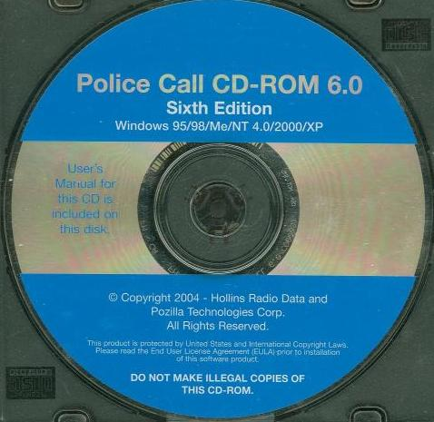 Police Call PC CD Hollins Radio Data Searchable Public